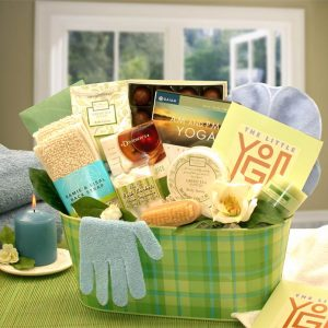 A Little Yoga Gift Basket