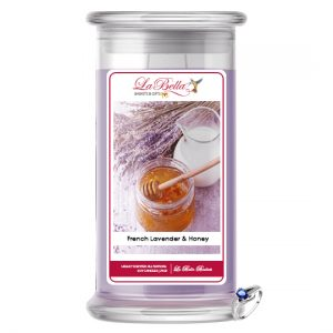 French Lavender & Honey Scented Candle