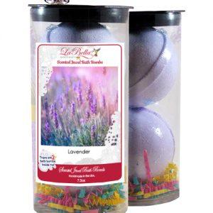 Lavender Scented Jewel Bath Bombs