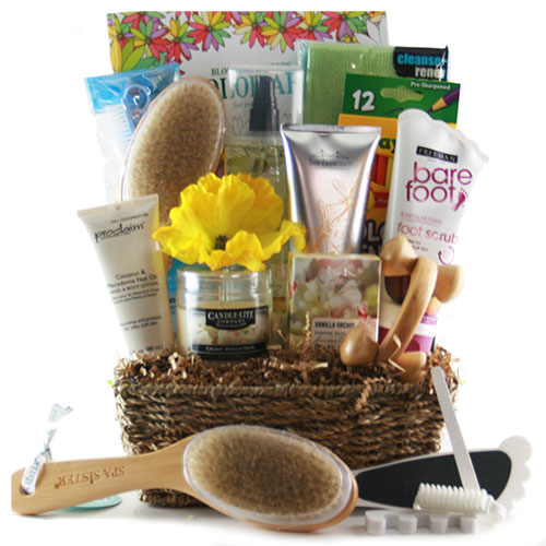 Stress Buster - Spa Gift Basket