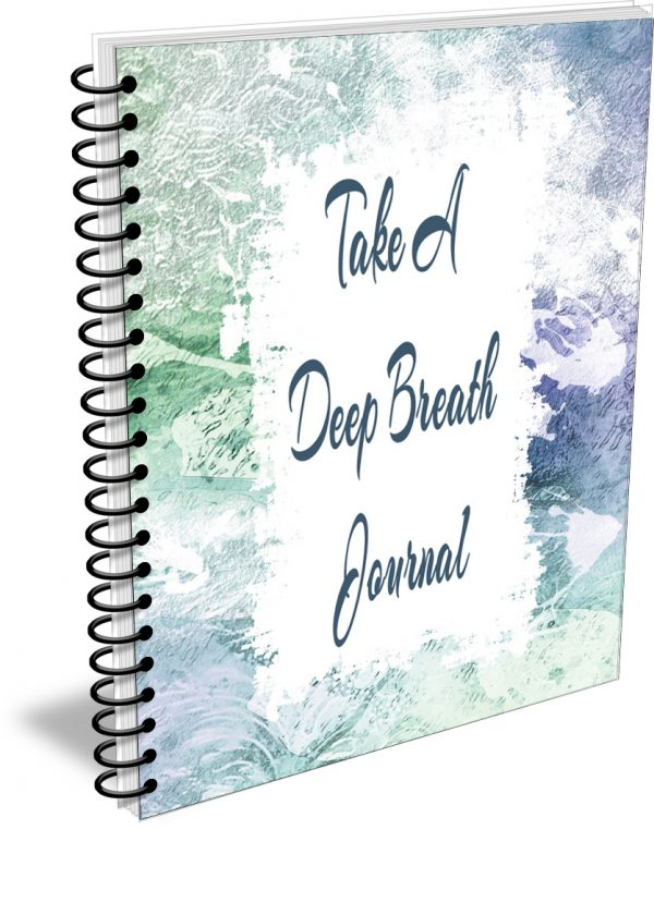 Take A Deep Breath Journal