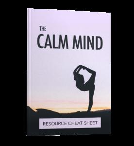 The Calm Mind Resource Checklist