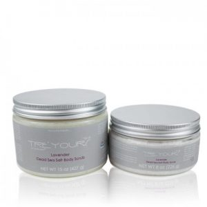 Tre'Yours Lavender Dead Sea Salt Body Scrub
