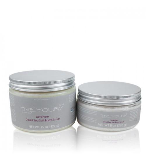 Tre'Yours Lavender Dead Sea Salt Body Scrub