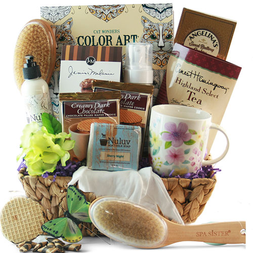 Stress Buster Spa Gift Basket